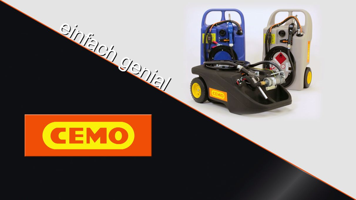 CEMO Tank Trolleys